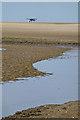 TA3803 : Aeroplane on the sand by David Lally