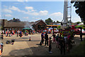 SP9211 : The Rear Yard of Tring Fire Station on Open Day by Chris Reynolds