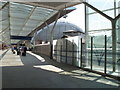 TQ2681 : New covered concourse leading to Paddington Station taxi rank by David Hawgood