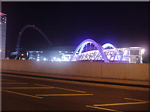 TQ1885 : The new arches at Wembley Stadium station by David Howard
