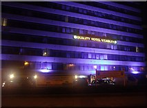 TQ1985 : The Quality Hotel Wembley on Empire Way by David Howard