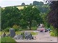 SN5218 : The Broadwalk at the Bational Botanic Garden of Wales by Robin Drayton