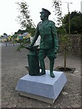 N2280 : Statue in Ballinalee by Darrin Antrobus