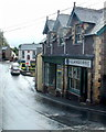 SO1327 : Former post office and Central Stores, Llangors by Jaggery