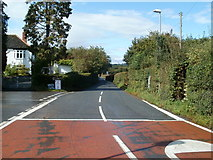 SO1327 : Left turn for Llangorse Lake by Jaggery