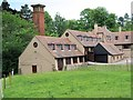 SJ9682 : The Old Sawmill, Lyme Park by David Dixon