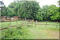 TQ3148 : Stile, Tandridge Border Path by N Chadwick