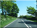 NY4763 : A6071 nearing Laversdale Lane by Colin Pyle