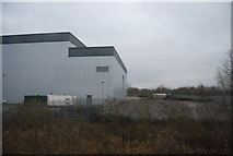 TL3808 : Industrial building in the Lea Valley by N Chadwick