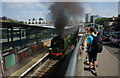 TQ3265 : No.34067 'Tangmere' at East Croydon by Peter Trimming