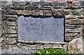 R1554 : Shannon Gaels GAA Club car park dedication stone, Ballyguiry, near Labasheeda, Co. Clare by P L Chadwick