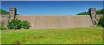 SK1789 : Derwent Dam by Peter Tarleton