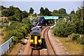 SK5376 : Whitwell railway station by Graham Hogg