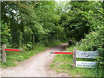 TR1034 : Path to Hythe by Chris McAuley
