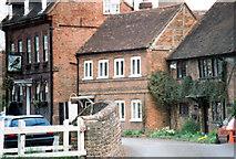 TQ0487 : The Falcon Public House, Falcon Cottage and Blacksmiths Cottage, Village Road, Denham by Jo Turner