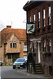 TQ0487 : The Falcon Inn, Village Road, Denham by Jo Turner