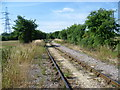 TQ7274 : Mineral railway on Higham Marshes by Marathon
