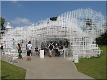 TQ2679 : Entrance to Serpentine Gallery Pavilion 2013 by David Hawgood