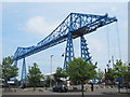 NZ4921 : The Transporter Bridge by Mike Quinn
