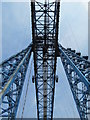 NZ4921 : The Transporter Bridge - southern tower by Mike Quinn
