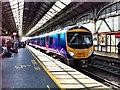 SD5329 : Trans Pennine Express train calls at Platform 3 of Preston Railway Station by Nick Harling