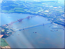 NT1279 : The Firth of Forth at Queensferry by M J Richardson