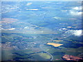 NT1373 : Edinburgh Airport from above The Binns by M J Richardson