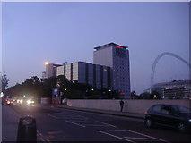 TQ1885 : The Ibis Hotel and Wembley Stadium by David Howard