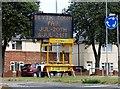 NZ3082 : Matrix sign in Blyth by David Clark