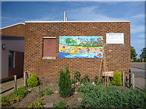 NT6578 : East Lothian Townscape : The Vegetable Patch, West Barns Primary School by Richard West