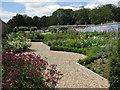 SE9364 : Inside the walled garden, Sledmere estate by Pauline E