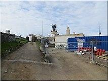 HU4007 : Sumburgh Head Lighthouse by Richard Webb