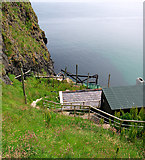 D0644 : Salmon fishery, Carrickarede by Rossographer