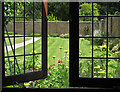 SE9364 : View from the summerhouse, Sledmere walled garden by Pauline E