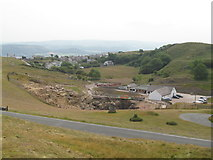 SH7783 : Former mine on the Great Orme by Mrs J Whatley