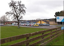 SO6302 : SE side of  the Dean Academy, Lydney  by Jaggery