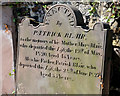 J4079 : Blair headstone, Holywood by Albert Bridge