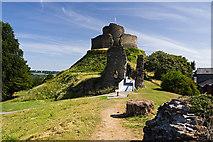 SX3384 : Launceston Castle (1) by Mike Searle