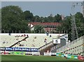 SP0684 : Edgbaston: watching cricket in the sun by John Sutton