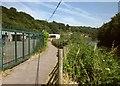 ST6273 : River Avon Trail at Crews Hole by Derek Harper