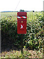 TM3384 : St.Peter Postbox by Adrian Cable