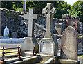 J4079 : John Graham's grave, Holywood (1) by Albert Bridge