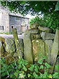 SE0023 : Stile on Hebden Royd FP113 at Kirby Cote by Humphrey Bolton