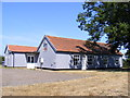 TM3657 : Blaxhall Village Hall by Adrian Cable