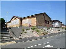 SJ9146 : Disused social club, Bentilee by David Weston
