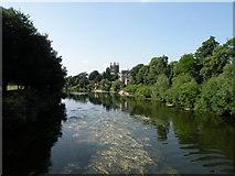SO5139 : River Wye at Victoria Bridge by Keith Edkins
