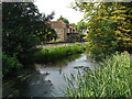 TQ0174 : Colne Brook by Alan Hunt