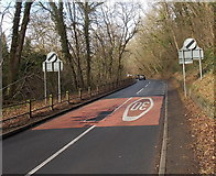 SO6303 : End of the 30mph speed limit at the northern edge of Lydney by Jaggery