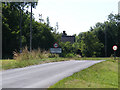 TM3283 : Entering St.Margaret South Elmham on The Street by Adrian Cable
