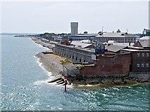SZ6299 : Fort Blockhouse, Gosport by David Dixon